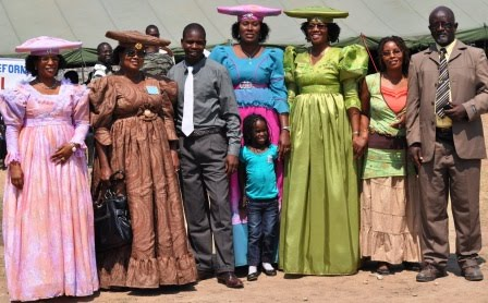 Traditional Botswana Dresses